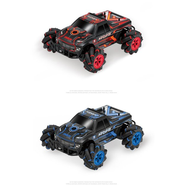 UK2077 1:16 Simulation RC Four-Wheel Drive Watch Gesture Induction Remote Control Sound Light Drift Car Vehicle Toy