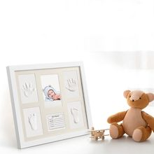 Get more info on the Baby Shower Keepsake Kit For Parents, Baby Handprint and Footprint Frame Kit For Room Wall or Table Decor E65D