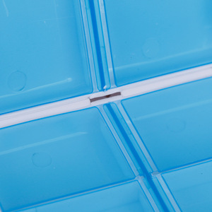 Image 4 - 1Pc פלסטיק 7 ימים מתקפל מיני גלולת העזרה הראשונה ערכות קופסא תרופות Tablet אחסון נסיעות מקרה מחזיק מיכל