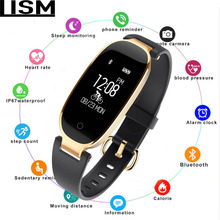 Smart Wristbands Fitness Bracelet Heart Rate Monitor Fitness Bracelet Band Gift To Lady for IOS Android Phone Smart Bracelet YES haiom new wristbands smart band heart rate monitor fitness bracelet w3 waterproof smart band bluetooth for ios android phone