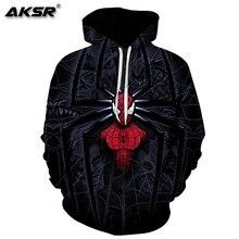 AKSR Men 3D Hoodies Sweatshirt Marvel Avengers Costume Pullover Hooded Hip Hop Hoodie Streetwear Sudadera