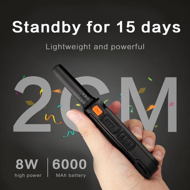 1 Or 2PCS KSUN X65 Talkie Walkie Scanner  UHF Walkie Talkie 10KM Two Way Ham Radio Station Radio  Comunicador Walkie-talkie 5