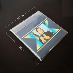 Image 5 - 5 יח\שקית מעובה PVC חומר חיצוני שרוול שיא מגן תיק כיסוי עבור 12 סנטימטרים LP ויניל רשומות אבזרים
