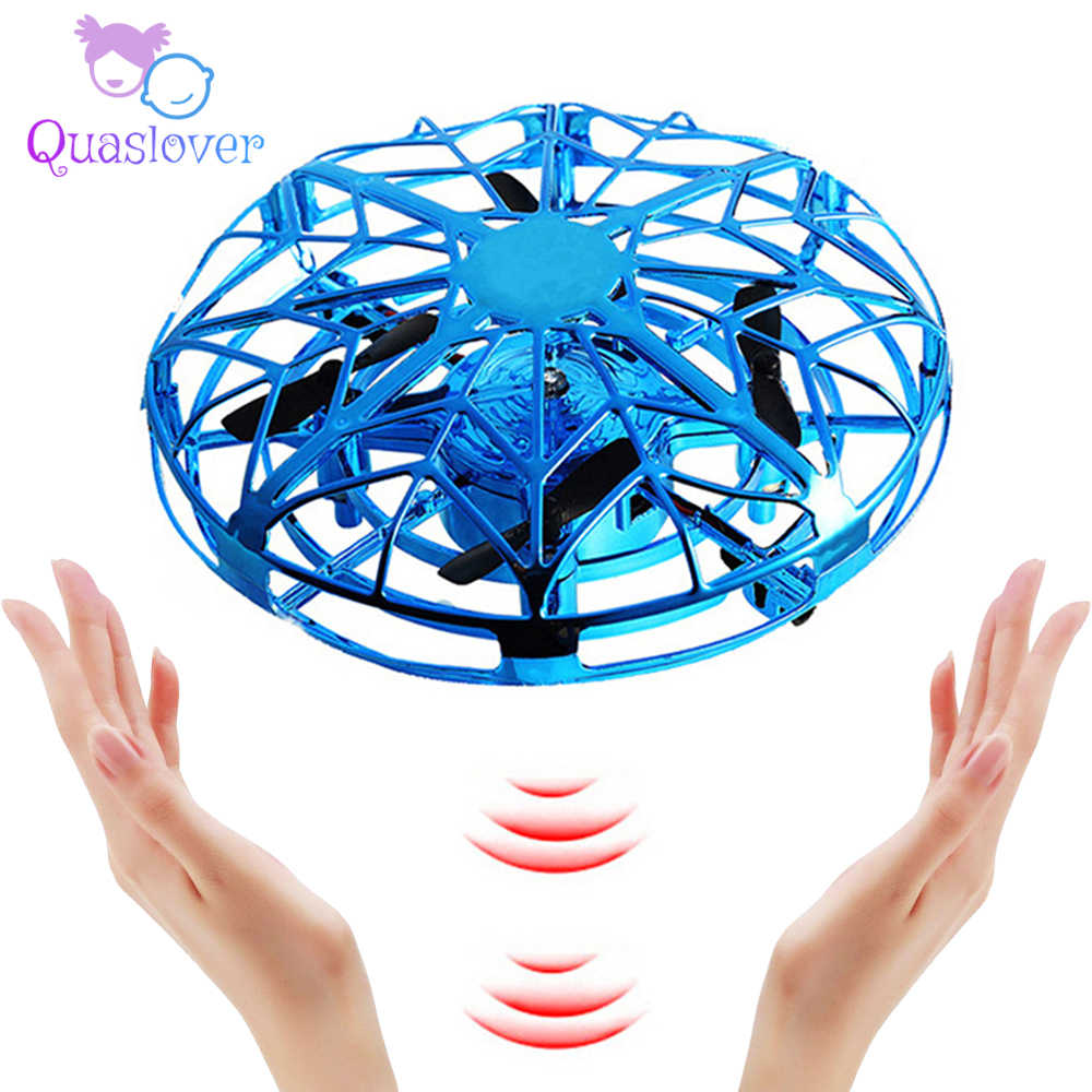Four-axis Mini Drone Gesture Sensing Quadcopter UFO RC Drone Cool Toys for Children Intelligent Height Flying Quadcopter Drone
