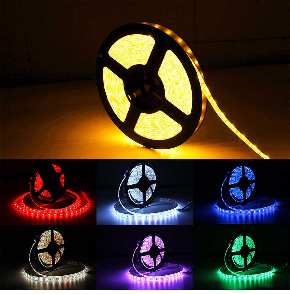 Usb power fernbedienung tv hintergrund LED Streifen licht 5V Treppen Kleiderschrank Bett Girlande Diode Band Schrank Schrank treppen RGB