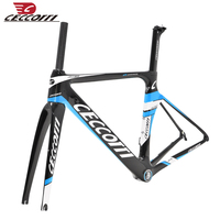 CECCOTTI 2019 new design carbon road bike frame BSA/BB30 road bicycle frameset T800 AERO carbon gravel frame