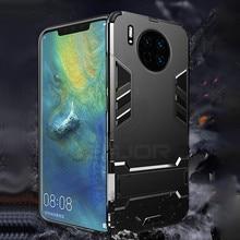 Keajor phone Case For Huawei Mate 30 Pro case TPU+PC Hard Plastic Kickstand Bumper Cover On for mate pro capa