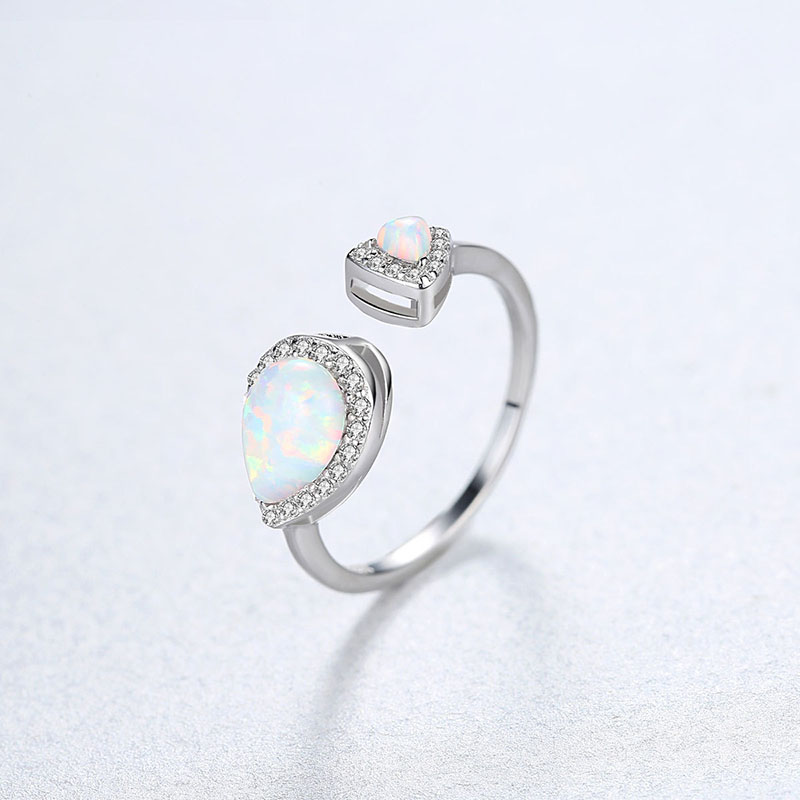 925 silver Gemstone Ring for women 3