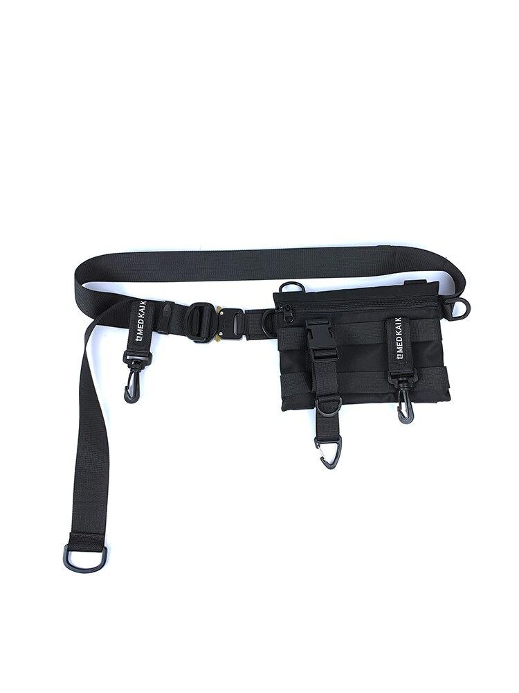 EWQ / men's Clothing accessories Cobra belt buckle belt bag urban function all-match module accessories belt with bag 9Y1126