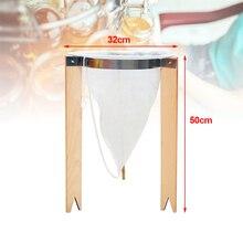 Suporte de filtro de mel de balde com filtro cônico apicultura processamento de mel ferramentas de apicultura