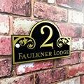 Заказной акриловый дверной номер знак на дом уличный адрес пользовательская номерная табличка для дома дверной знак