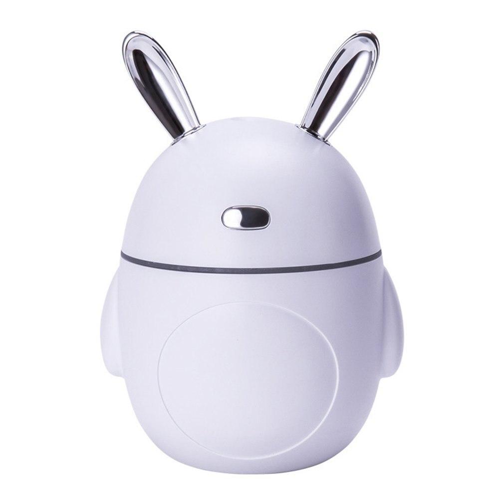 Mini Exquisite USB Light Humidifier Portable Rabbit Angle Humidifier Air Aroma Diffuser White Small Charging Portable