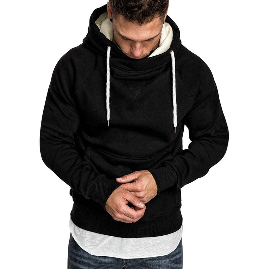 KANCOOLD Hooded Sweatshirt Jackets Coat Men Long-Sleeve Male Casual Spring Solid Top-7
