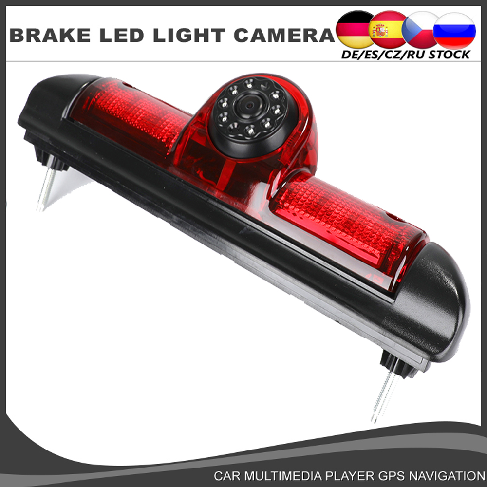 Car Reverse Brake Light Camera HD Rear View Camera For For Citroen JUMPER III FIAT DUCATO X250 PEUGEOT BOXER III Backup Parking
