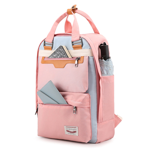 Classical Female Backpack Nylon Satchel Large Anti-theft 15.6 Inch Laptop Backpack Fashion School Bag For Teenage Girl