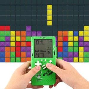 Image 2 - Retro Handheld Spiel Spieler Tetris Klassische Kindheit Spiel Elektronische Spiele Spielzeug Spiel Konsole Rätsel Pädagogisches Spielzeug Für Kind
