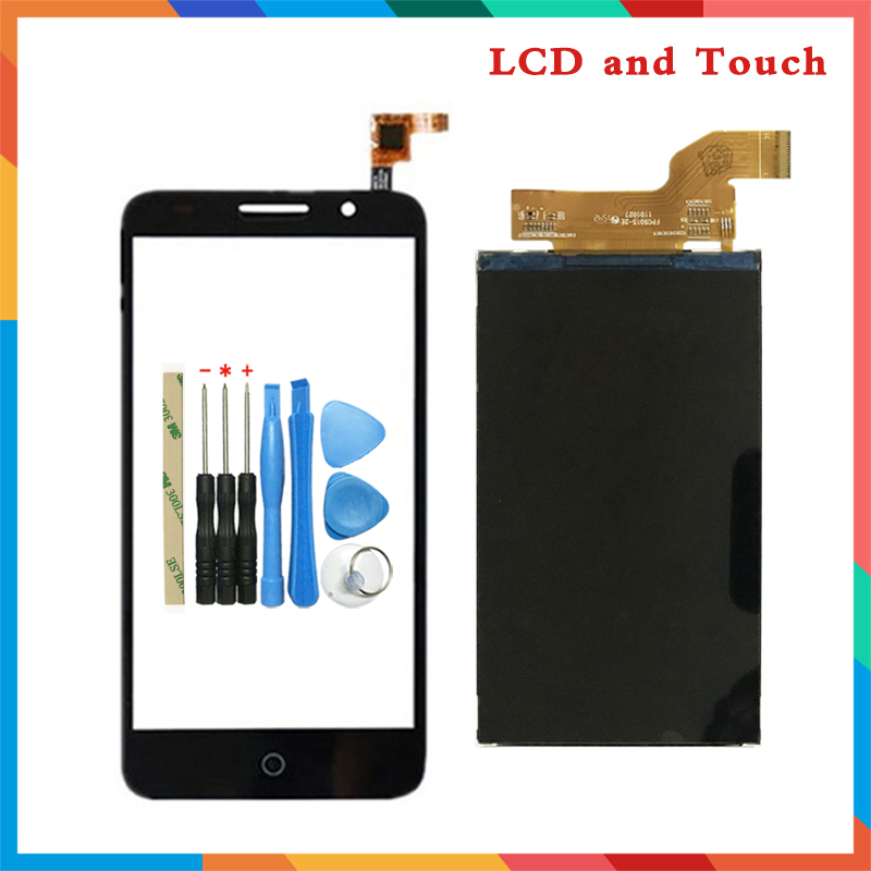 High Quality 5.0'' For Alcatel One Touch Pixi 3 4G OT5065 5065A 5065D 5065X Lcd Display Screen + Touch Screen Digitizer Sensor|Mobile Phone LCD Screens| |  - title=
