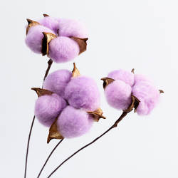Хлопок сушеные цветы украшение цветок полностью ручной работы для изготовления сохраненные свежими цветок гостиной украшение настоящие