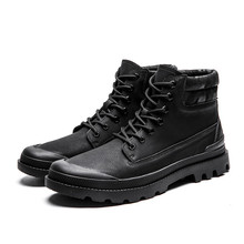 New Mens Winter Shoes Fashion Men Pig Suede Boots Pointed Toe Casual Cheap Male %80251