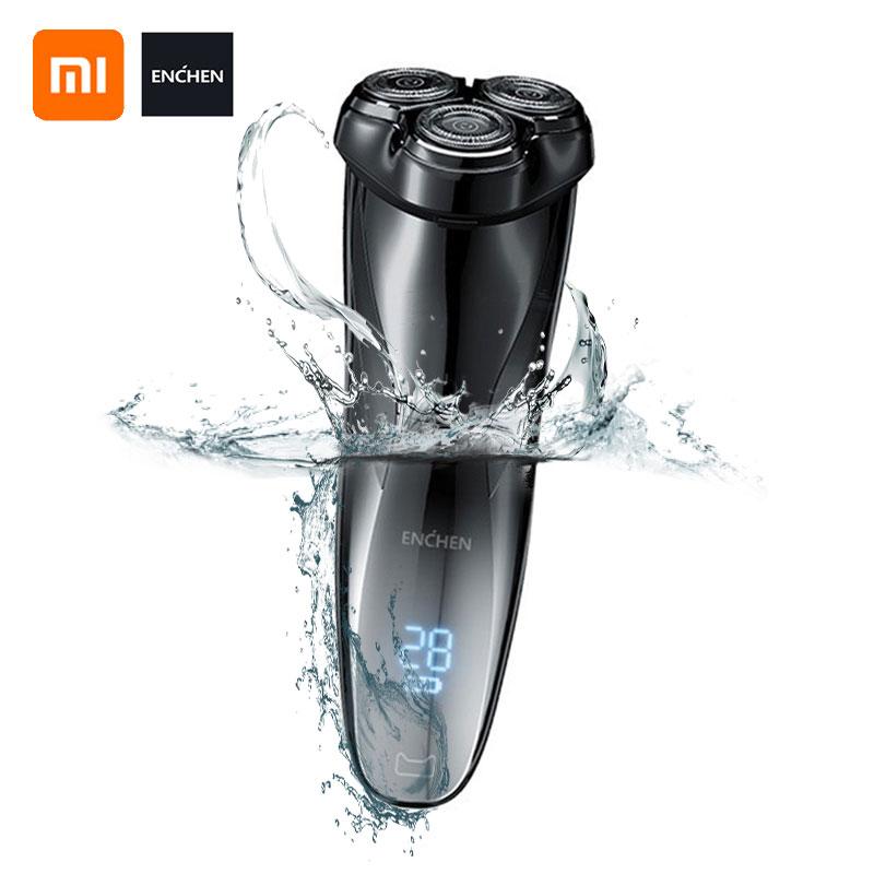 Enchen 3D Men Electric Shaver Razor BlackStone3 IPX7 Waterproof Wet & Dry Dual Use LCD 3D Smart Control Shaving Beard Machine|Electric Shavers|   - AliExpress
