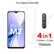 For Xiaomi Poco M2 Explosion Proof 2.5D 0.26mm Tempered Glass Screen Protector Protective Glass Film Guard
