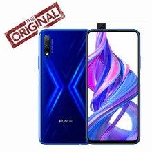Honor – smartphone 9X, téléphone portable, Kirin 810, Octa Core, plein écran 6.59 pouces, levage, 48mp, 3 caméras, 4000mAh, GPU Turbo, nouveau