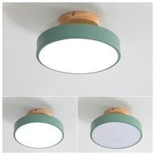 LED Hallway Lamp Nordic Ceiling Lamps Acrylic Sconces 3 Lights color Round Light Surface Mount Balcony Aisle