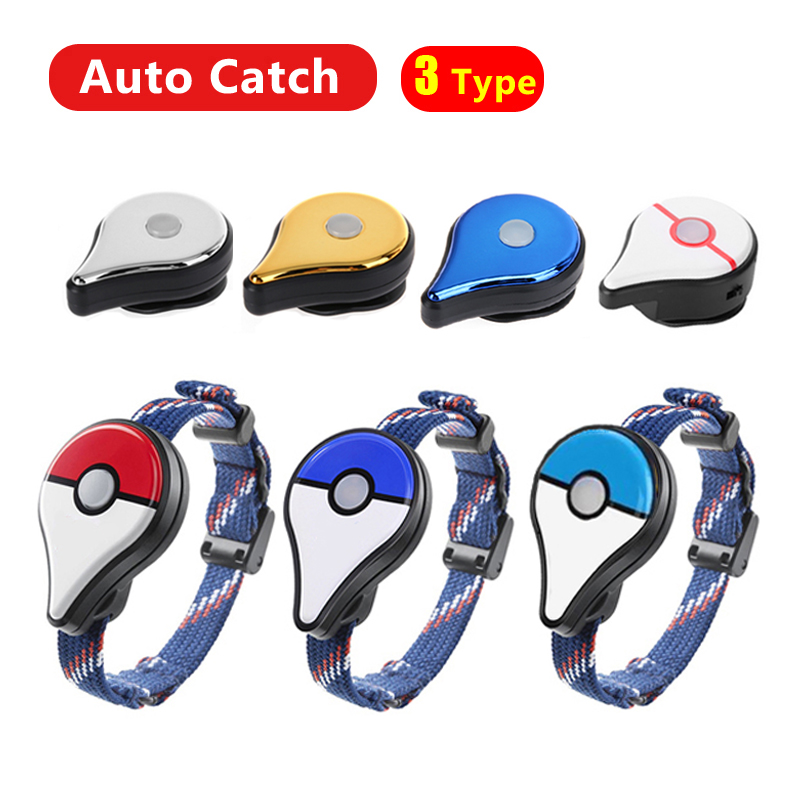 Auto Catch Bluetooth Wristband Bracelet For Pokemon Go Plus Game Accessories Interactive Band Smart Wristband With Charger