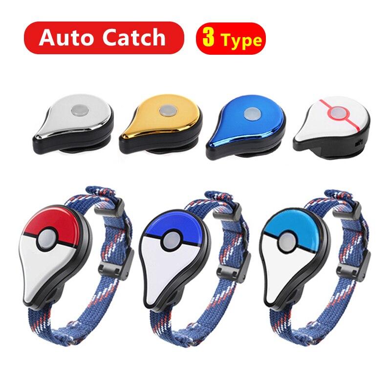Bluetooth Wristband Bracelet Auto Catch For Pokemon Go Plus  Smart Bracelet For Nintendo Smart Watch For Pokemon Charging Type