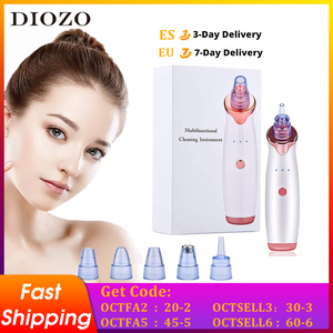 DIOZO Blackhead Remover T Zone Pore Acne Pimple Removal Face Deep Nose Cleaner Vacuum Suction Facial Beauty Clean Tool