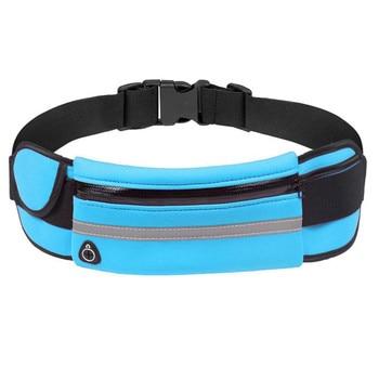 Sports Bag Running Waist Bag Pocket Bag Outdoor Jogging Cycling Running Bag Waterproof Adjustable Anti-theft Pack Sport Belt Bag 15