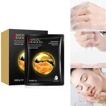 1PCS Gold Caviar Hydrating Mask Deep Moisturizing Easy Absorb Skin Improve and to Care T8M1 image