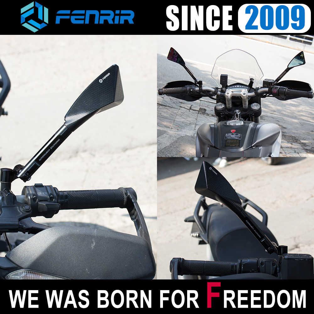 العالمي الألومنيوم نك دراجة نارية مرآة الرؤية الخلفية الجانبية ل توموك ياماها بمو هوندا سوزوكي دوكاتي كاواساكي KTM هيوسونغ بينيلي ATV