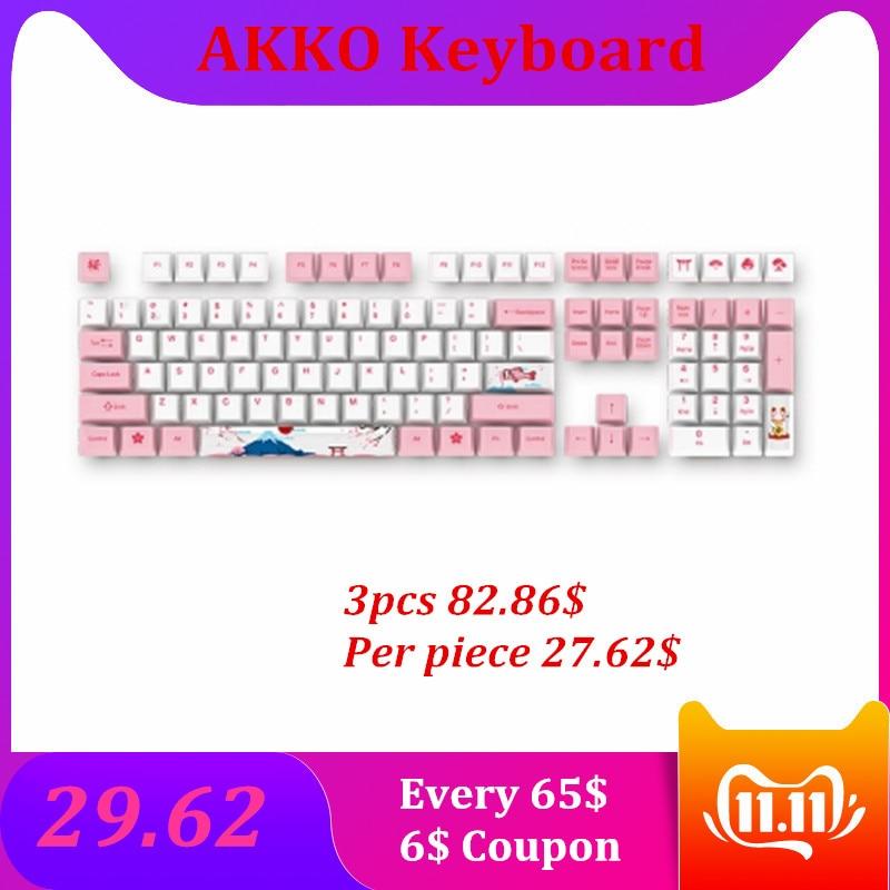 Механическая клавиатура Keycap для 108 Keyboard World Tour серия Cherry Dye subbed PBT Keycap Набор для механической клавиатуры