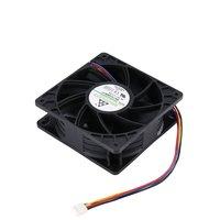 7500RPM DC12V 5.0A 광부 냉각 팬 Antminer Bitmain S7 S9 4 핀 커넥터 브러시리스 교체 냉각기 저소음