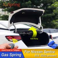 Soporte de puerta trasera de coche, varilla de soporte de elevación, amortiguador de soporte de muelle Gar para Nissan Sylphy Sentra 2020 B18