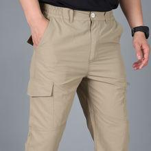 Мужчины Тактический штаны армейские военные брюки Карго повседневные