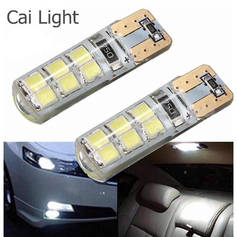 2 pièces voiture style voiture Auto LED T10 Canbus 194 W5W 2835 SMD 12 lumière LED ampoule Parking licence lumière T10 LED voiture côté lumière