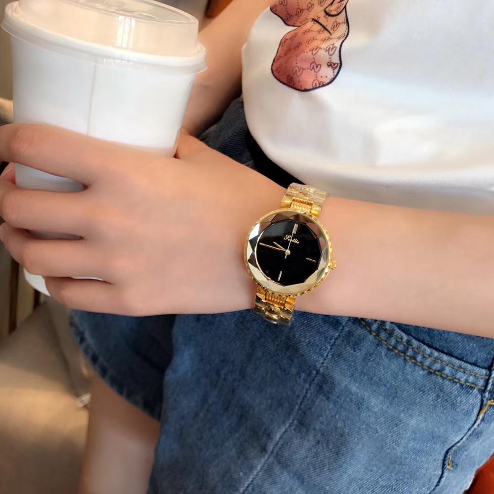 2018 여성을위한 새로운 드레스 스타일 아날로그 시계 숙녀 시계 선물