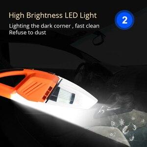Image 3 - 120W รถเครื่องดูดฝุ่นสำหรับรถยนต์แบบพกพาเปียกและแห้งใช้คู่5เมตรสายเชื่อมต่อ LED หลาย Dust Hot