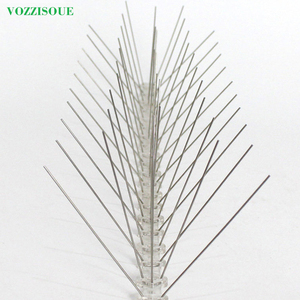 Image 3 - Hot 7M Bird and Pigeon Spikes Pest Repeller Anti Bird Pigeon Spike for Get Rid of Pigeons and Scare Birds Pest Control 60 Thorns