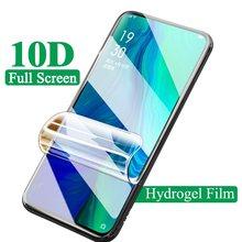 Filme de hidrogel para oppo reno z 10x zoom rx17 neo protetor de tela para oppo realme x 3 5 pro u1 filme não vidro