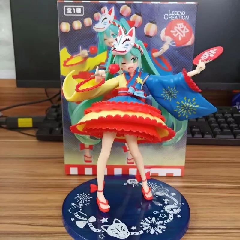 Action Figur Modell 20cm Spielzeug Hatsune Miku Figure 2nd season Summer Ver