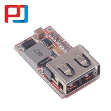10 pces 6-24v 24v 12v a 5v usb step down pular DC-DC conversor carregador de telefone fonte de alimentação do carro módulo eficiência 97.5% buck