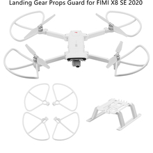 Props Guard Kits for FIMI X8 SE 2020 Landing Gear Quick Release Drone Height Extender Long Leg Foot Peopeller Protector Blade