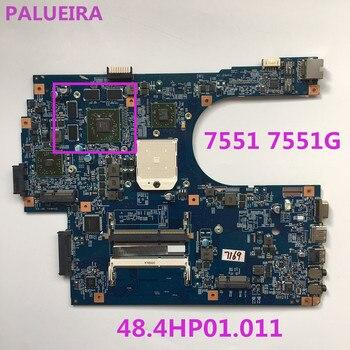 Placa base para portátil PALUBEIRA MB. RCD01.001 55.4HP01.281G JE70-DN 48.4HP01.011 con chip de tarjeta de vídeo para Acer Aspire 7551 7551G
