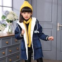 Girls  Denim Jacket Kids Fashion Jeans Coat Spring Children Clothes Little Outerwear Clothing 6-15Y 02086