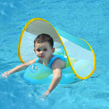Baby Swimming Float With Canopy Inflatable Infant Floating Ring Kids Swim Pool Dropship Summer Accessories Bathing Circle Toys