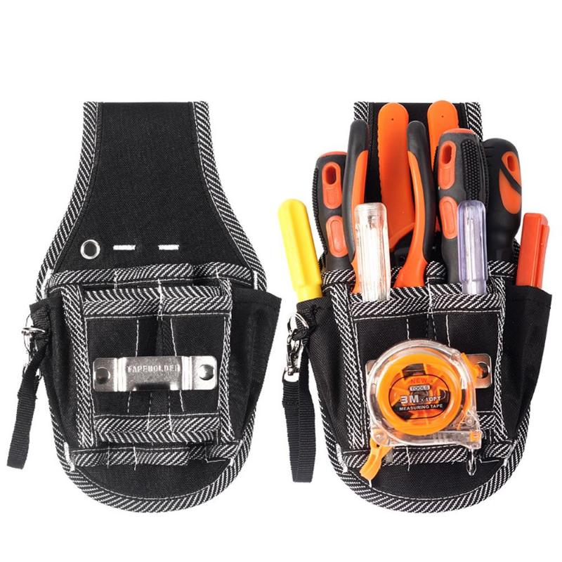 Wrenches Screwdrivers Pliers Storage Bag Oxford Cloth Firm Durable Wear-resistant Repair Tool Pouch Organizer Waist Pack