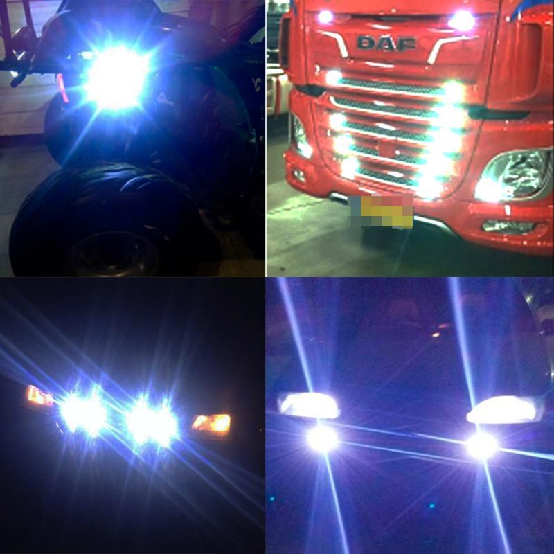 23mm Eagle Eye Light White Red Blue Led Daytime Running Light Drl Backup Car Motor Led Parking Signal Lamps Waterproof Fog Light in Car Headlight Bulbs LED from Automobiles Motorcycles